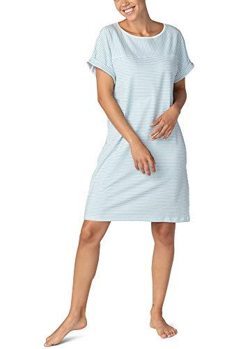 Mey Night Rica Damen Nachthemden Blau 44