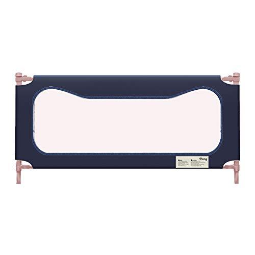 Barrière de lit, Barrière de lit portative pour Enfants, barrière de sécurité à Levage Vertical pour lit de bébé Baby Bedril - Hauteur de 80 cm (Taille : 120cm)