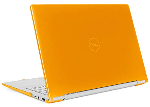 mCover Hard Shell Case for 13.3\' Dell Inspiron 13 7391 2-in-1 Convertible Laptop Computers (Orange)