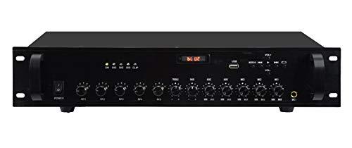 Amplificador PA 180 W – 5 zonas