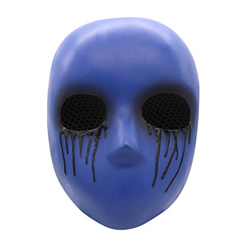 Eyeless Jack Horror Killer Resin Mask Halloween Cosplay Costume Accessory