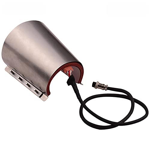 Funien Prensa de Taza cónica,Taza cónica Copa Prensa Accesorio de Transferencia de Calentamiento Gel de sílice 17 oz 220 V para Sublimación de Transferencia de máquina de Prensa de Calor