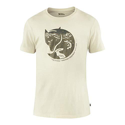 Fjallraven Arctic Fox T-Shirt M Chemise, Blanc Craie, S Homme
