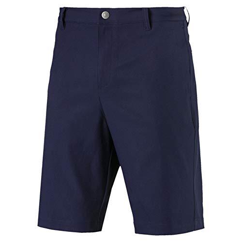 PUMA Jackpot Herren Golf Gewebte Shorts Peacoat 36