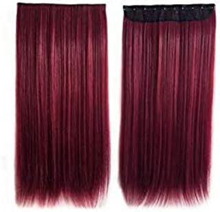 Women's hair Extension Long Straight Ladylike All Match Graceful Fashion Wig Accessory
