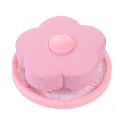 Hffan Waschen Maschine Schwimmend Fussel Mesh Tasche Haar Filter Netz Beutel Waschmaschine Schwimmende Lint Mesh-Tasche Blume-Typ Waschmaschine Haarentferner Filter Net Pouch