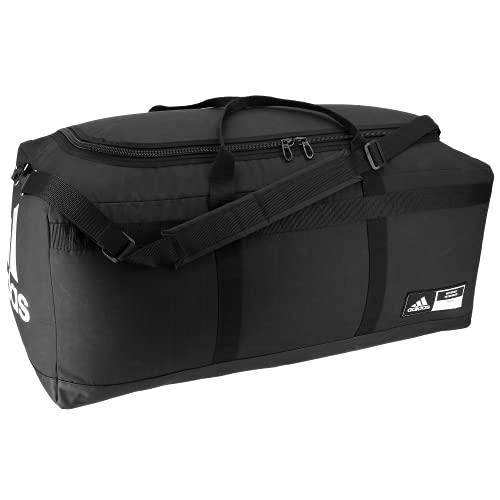 adidas Unisex Locker Room Baseball Duffel Bag, Black, ONE SIZE
