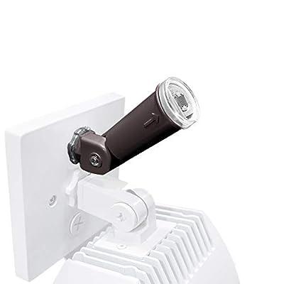 WAC Lighting PC-120-BK Endurance Photo Sensor Wall Lighting, Architectural Black