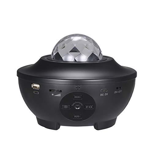 Projecteur Étoile, Lampe Projecteur Led 21 Modes Éclairage Planetarium Projecteur Luminosité Réglable avec Bluetooth, Télécommande Minuterie pour Décoration de Bébé Chambre Salon