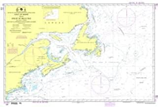 NGA Chart 109: Gulf of Maine to Strait of Belle Isle Including Gulf of St. Lawrence