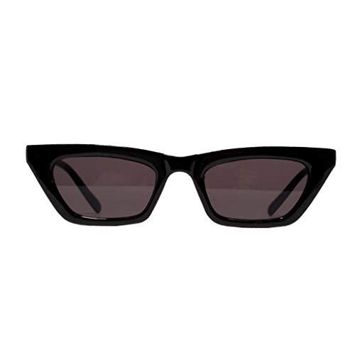 F Fityle Gafas de Sol de Moda para Mujeres, Hombres, Gafas Al Aire Libre de Verano Anti UV, Montura Cuadrada
