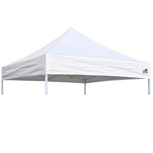 Eurmax Pop Up Canopy Top Gazebo Tent Cover Replacement Top Only (8x8 Feet, White)