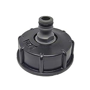 Youool – Adaptador para tubo flexible IBC de plástico, conector reductor, conexión para depósito de agua, rosca gruesa…