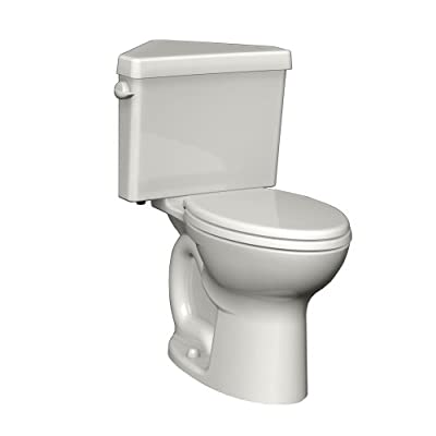 American Standard Cadet 3 Right Height Elongated Two-Piece Triangle Toilet with 12-Inch Rough-In