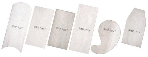 Shop Fox D3294 Scraper Set, 6-Piece