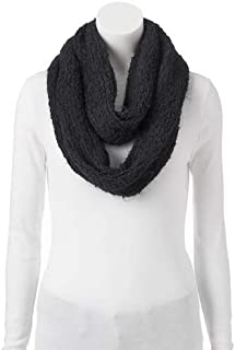 Cuddl Duds Infinity Scarf Black One Size fits All