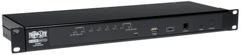 TRIPP LITE 8-Port Steel Rackmount IP KVM Switch with On-Screen Display (B022-U08-IP) - coolthings.us