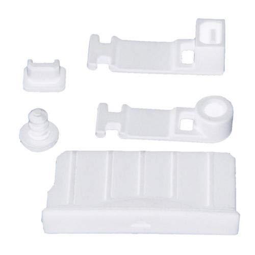 Tapón de silicona para enchufe de polvo para auriculares Nintendo 3DS / 3DS XL LL/NEW 3DS / NEW 3DS XL LL (blanco)