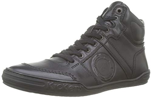 Kickers JEXPLOREHIGH, Baskets Hautes Hommes, Noir (Noir...