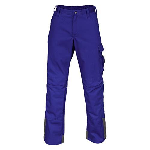 KÜBLER Workwear KÜBLER Image Vision Arbeitshose blau, Größe 52, Herren-Arbeitshose aus verstärkter Baumwolle, Arbeitshose mit Knieschutztaschen nach EN 14404, robuste Arbeitshose