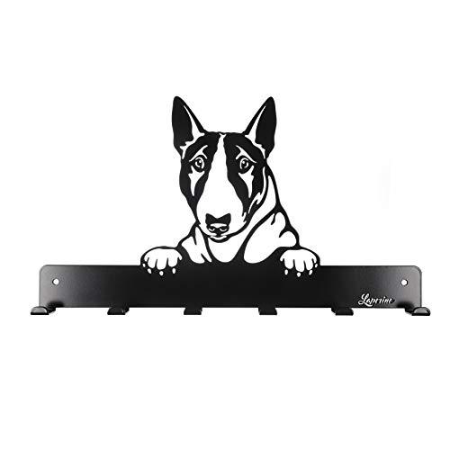 Laperino Schicke und praktische Bullterrier Hundegarderobe XL 450mm Breit - Leinenhalter