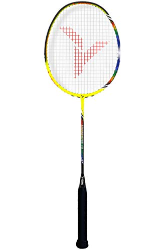 Young ENVIRO Star Professional Badminton Racket, Lightweight, Japan High Modulus 40-Ton Graphite, Includes Carrying Bag (BWF World Championship Series) (Strung, Enviro 10)