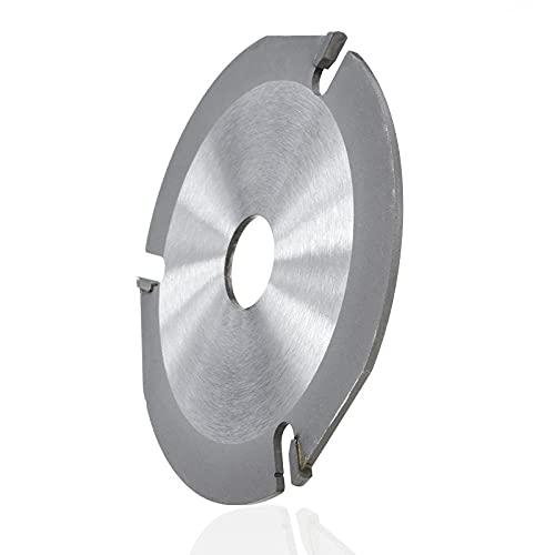 Hoja de sierra circular multifunción de 125 mm para amoladora angular Disco de sierra Disco de corte de carburo para madera