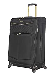 powerful Steve Madden's Designer Luggage-Large 28-inch Soft Side Suitcase-Expandable for Additions …