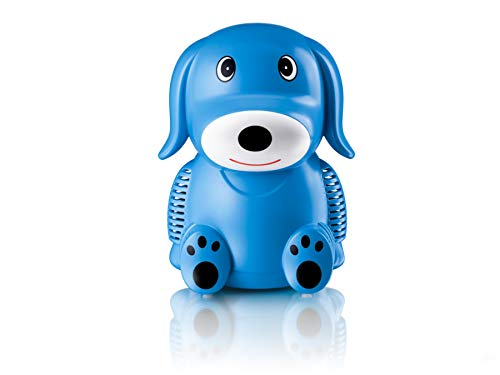 Only for Baby Blue Puppy Inhaliergerät Kinder Inhalator Aerosol Therapie Vernebler Inhalation Kompressor Aerosolvernebler Inhalationsgerät