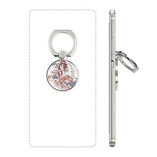 Geisha Kimono Fan Japan Golven Mobiele Telefoon Ring Stand Houder Beugel Universele Smartphones Ondersteuning Gift