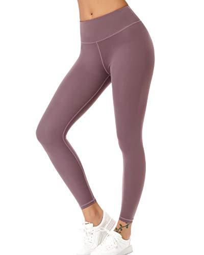 Teniux Laufhose Damen Sport Leggins für damen Ideal für Training, Radfahren, Laufen, Gymnastik, Yoga, etc (S-Violett, XS (DE26-28))