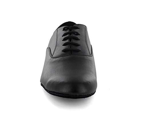 Minitoo ,  Herren Tanzschuhe , Schwarz – schwarz – Größe: 44 - 4