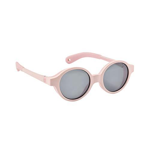 Beaba - Gafas de sol para bebé de 9 a 24 meses, protección 100% UV – CAT 3, protección lateral, confort óptimo, ramas ajustables 360 ° rosa chicle Talla:9-24 mois
