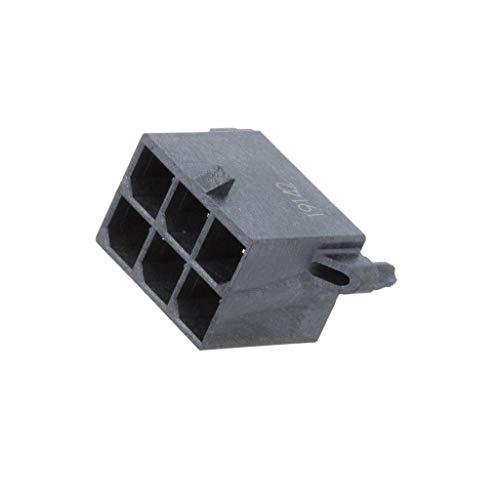 Preisvergleich Produktbild MX-76829-0006 Socket wire-board male Mega-Fit 5.7mm PIN 6 Pin layout MOLEX