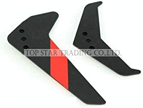 Part & Accessories UDI U12 RC helicopter spare parts tail horizontal and vertical fin