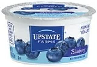Upstate Farms Nonfat Blueberry Yogurt, 4 Ounce -- 48 per case.