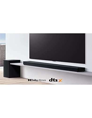 LG Electronics DSP11RA Soundbar (770 Watt) mit Meridian-Technologie (Dolby Atmos, inkl. kabelloser Rücklautsprecher) [Modelljahr 2021]