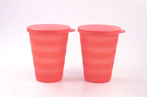 Tupperware Junge Welle Trinkbecher 330 ml orangeTrinkbecher (2)