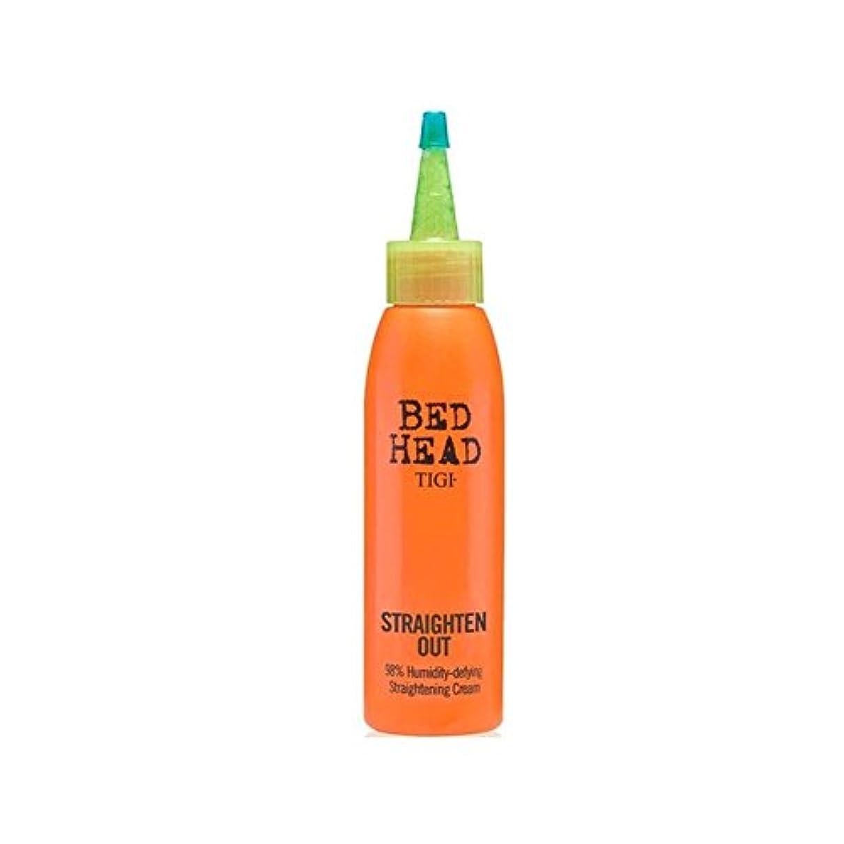哀れな鑑定品種Tigi Bed Head Straighten Out Straightening Cream (120ml) (Pack of 6) - ティジーベッドヘッド矯正クリーム(120ミリリットル)をまっすぐ x6 [並行輸入品]