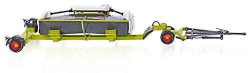 SIKU - 7825 - Claas Direct 520 avec Chariot - Echelle 1/32