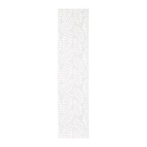 IKEA.. 203.787.70 Yrla Panel Curtain, White, White