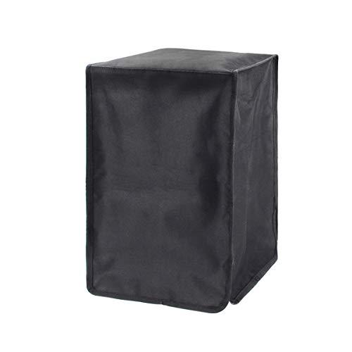 BCZAMD DLP-Druckergehäuse Elite Blackout-Abdeckung Universeller Druckerschutz vor Sonnenlicht Staubschmutz PVC-laminierte Polyester-Aufbewahrungshülle 9,5x9,5x16 Zoll für SLA LCD 3D-Harzdrucker