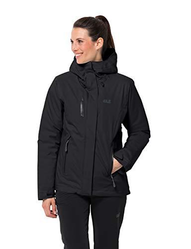 Jack Wolfskin Damen Troposphere Jacket W Wetterschutzjacke, black, XL
