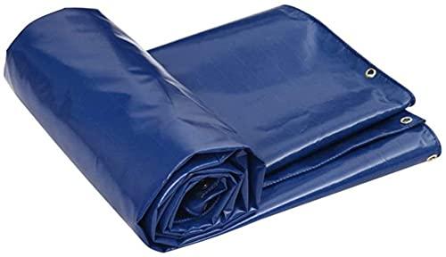 EIERFSKIOT Telo Impermeabile Esterno telone Impermeabile per Esterno Telone Impermeabile Protezione Solare Parasole Pioggia tendalino Auto telone Auto Tela telone Auto(Color:Blue;Size:3x4m)