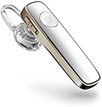 Plantronics M180 Wireless Bluetooth Headset for All Smartphones - Gold