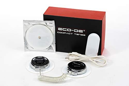 ECODE EMS Estimulador Digital Muscular Electroestimulador Compact Tens Double sin Cables ECO-304