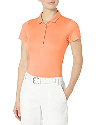 PUMA Golf 2020 Women's Rotation Polo, Cantaloupe, XX-Large
