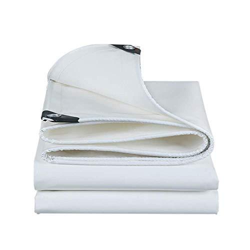 Luifel XXT wit dik film doek regendicht waterdichte zonwering, zonwering overkapping isolatie canvas eenzijdig waterdicht zijslijtvast 0,53 kg/vierkante meter