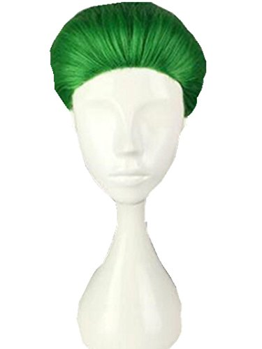 TopWigy Joker Cosplay Wig Lolita Synthetic Heat Resistant Wig Jack Joseph Suicide Squad Costume Accessories+ Wig Cap (Green 1)