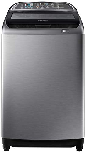 Samsung 11 Kg Inverter 5 star Fully-Automatic Top Loading Washing Machine (WA11J5751SP/TL, Silver, Wobble Technology)
